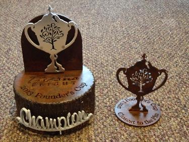 TOSCANA -Custom Golf Trophy