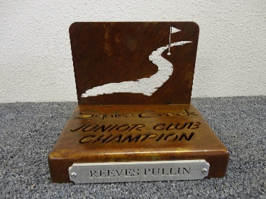 Custom Golf Trophy -Squire Creek