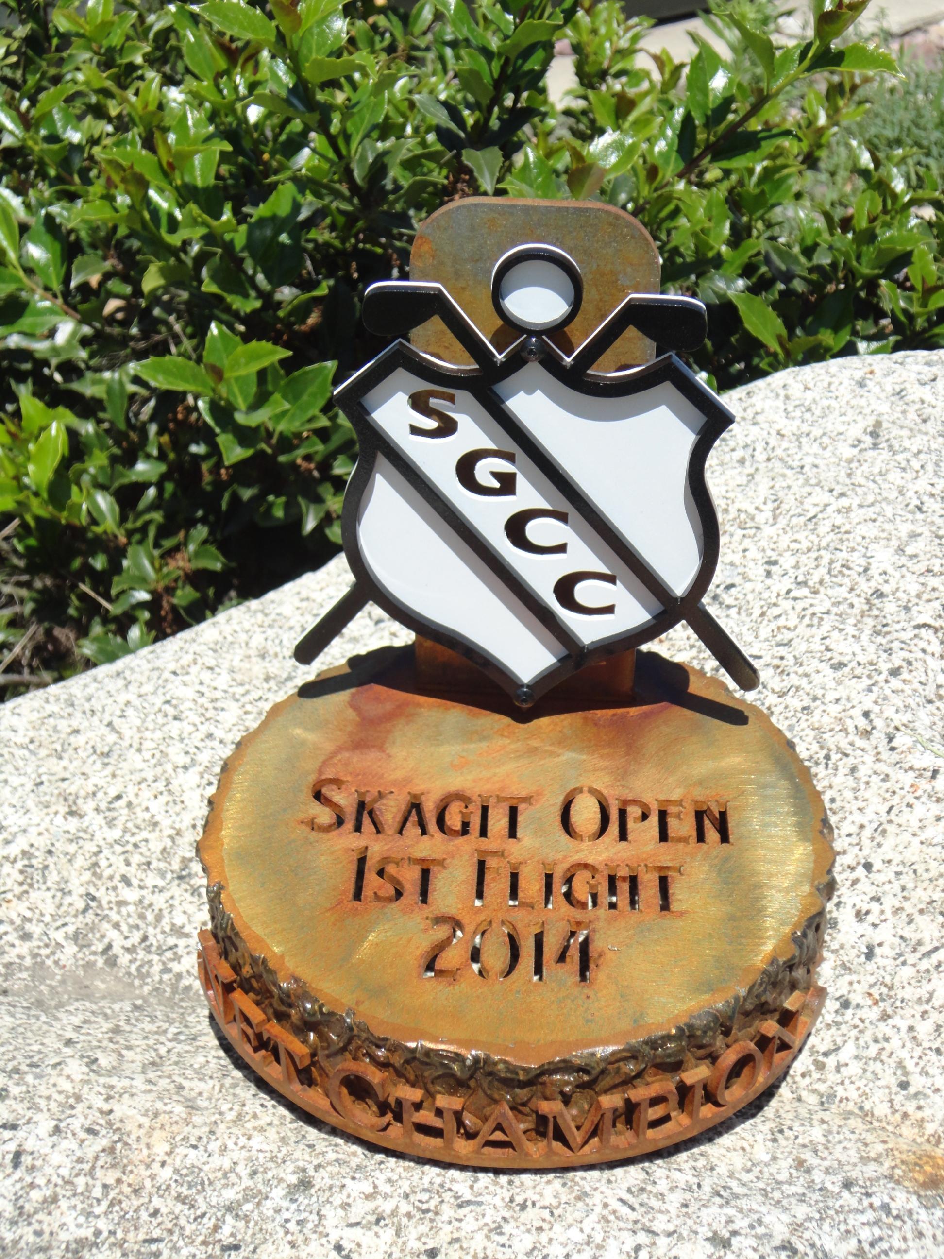 SKAGIT 2 -Golf Invitational Trophy