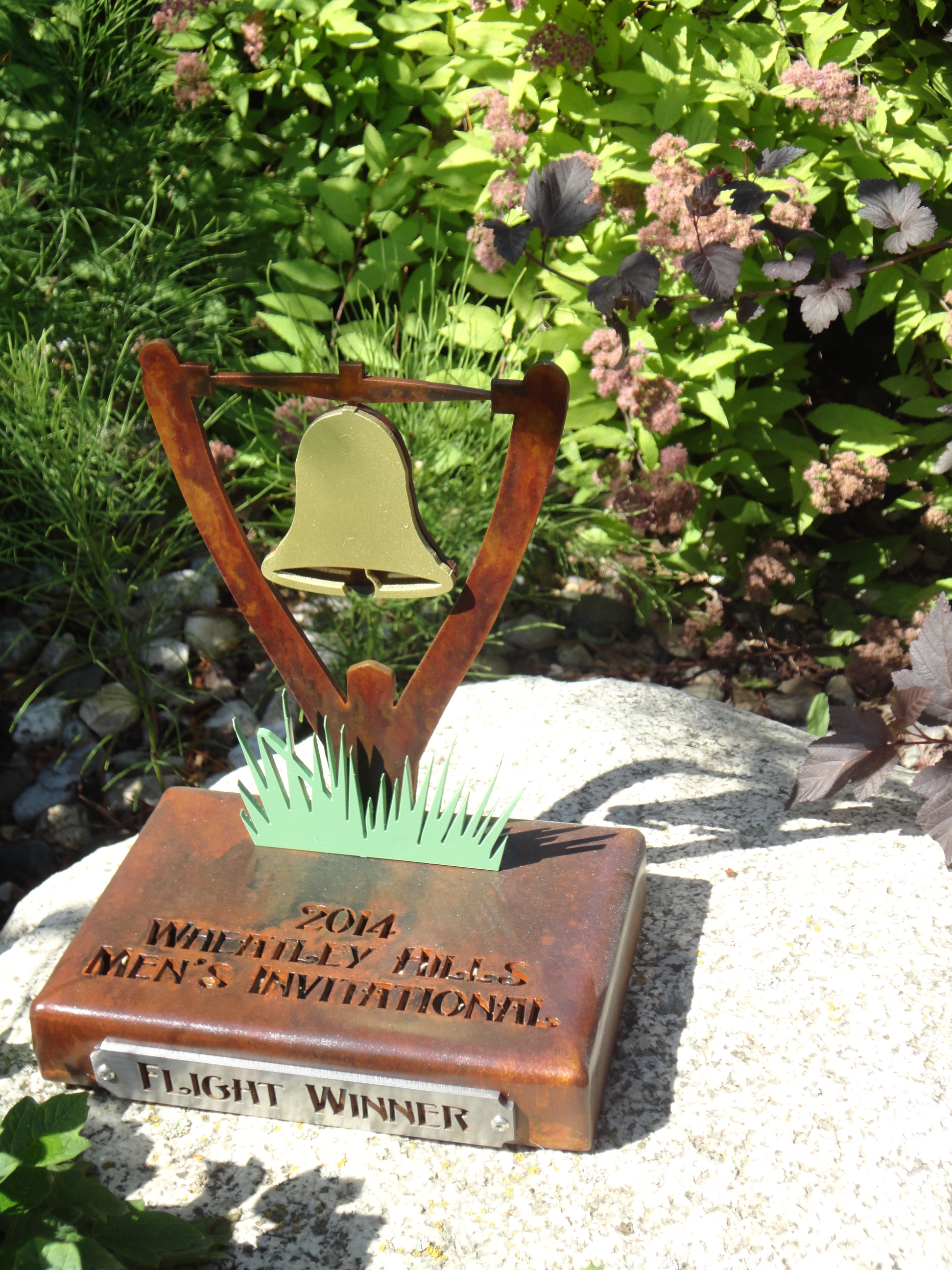WHEATLEY HILLS -Tournament Trophy for fligh winners