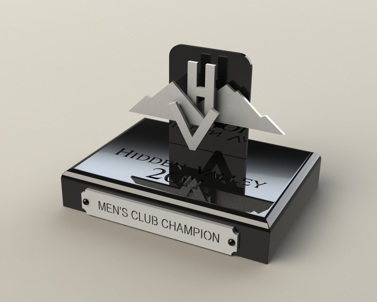 Custom golf tournament awards