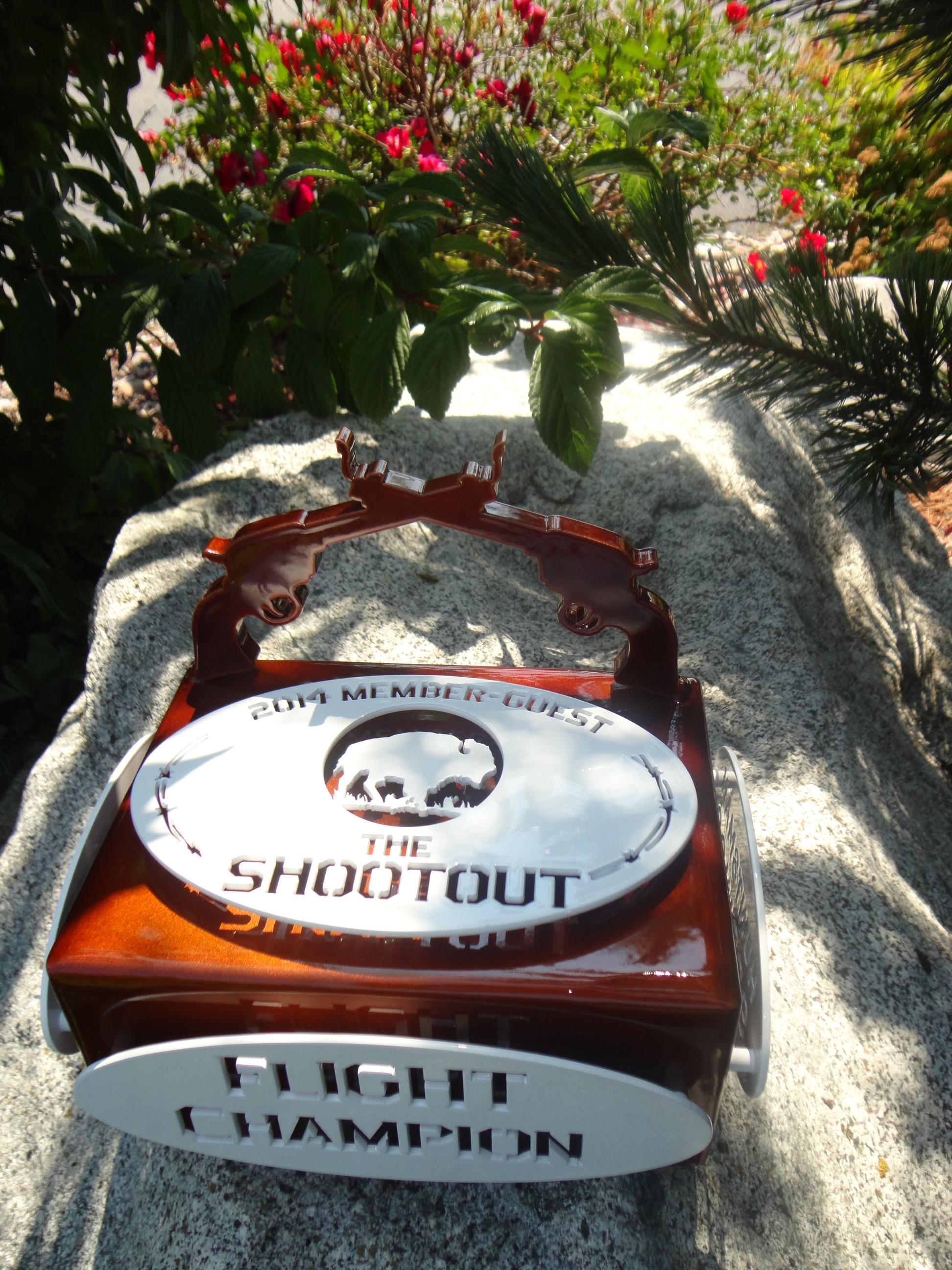 Golf Shootout Trophy-HUNTSMAN SPRINGS