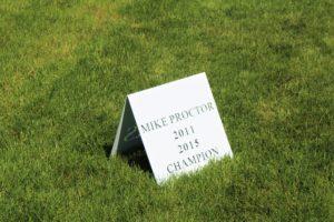 Golf Tournament Name Signs -12 Oaks