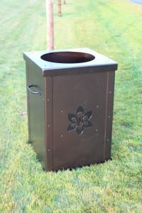 Waste Enclosures for Golf Courses -Wachesaw