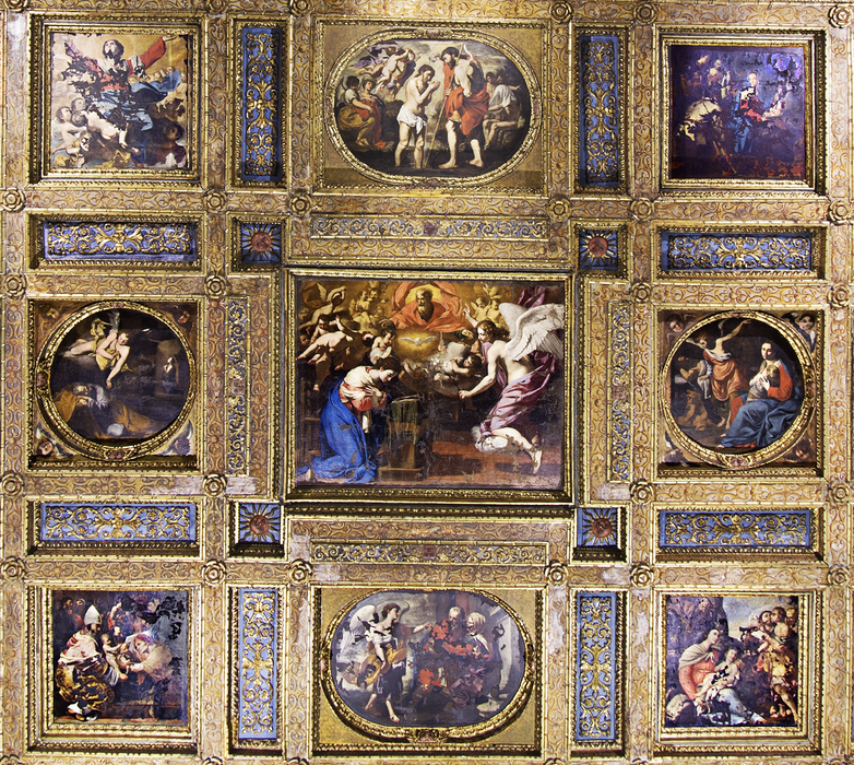 Collegiata ceiling