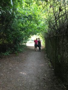 Hiking at Carkeek Park