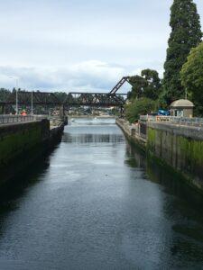 Visit Hiram M. Chittenden-Ballard to see the salmon run. An unexpected highlight.  Locks