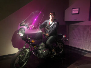 No Purple Rain in Seattle this weekend, but the Museum of Pop Culture had an exhibit about Prince.