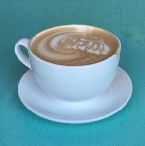 Starbucks? Nah. Try some local coffee at Cherry Street.