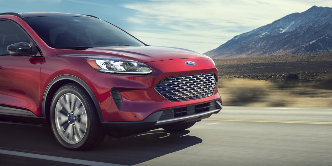 Completely redesigned new 2020 Escape best offers four new propulsion choices – including two all-new hybrids; standard hybrid targets best-in-class EPA-estimated range of more than 550 miles; plug-in hybrid targets a best-in-class EPA-estimated pure-electric range of 30+ miles