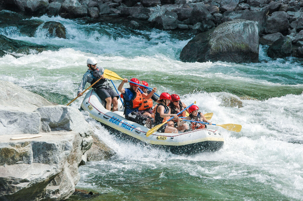 Whitewater Rafting on the Payette River