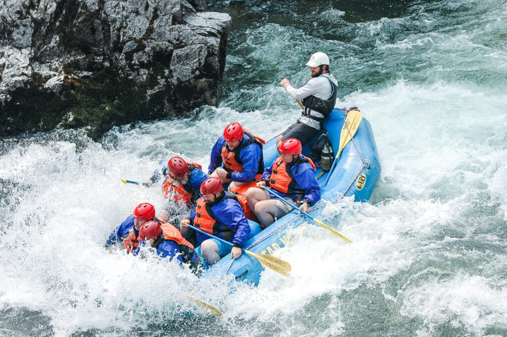 Full-day Whitewater rafting on the Canyon - South Fork Payette River