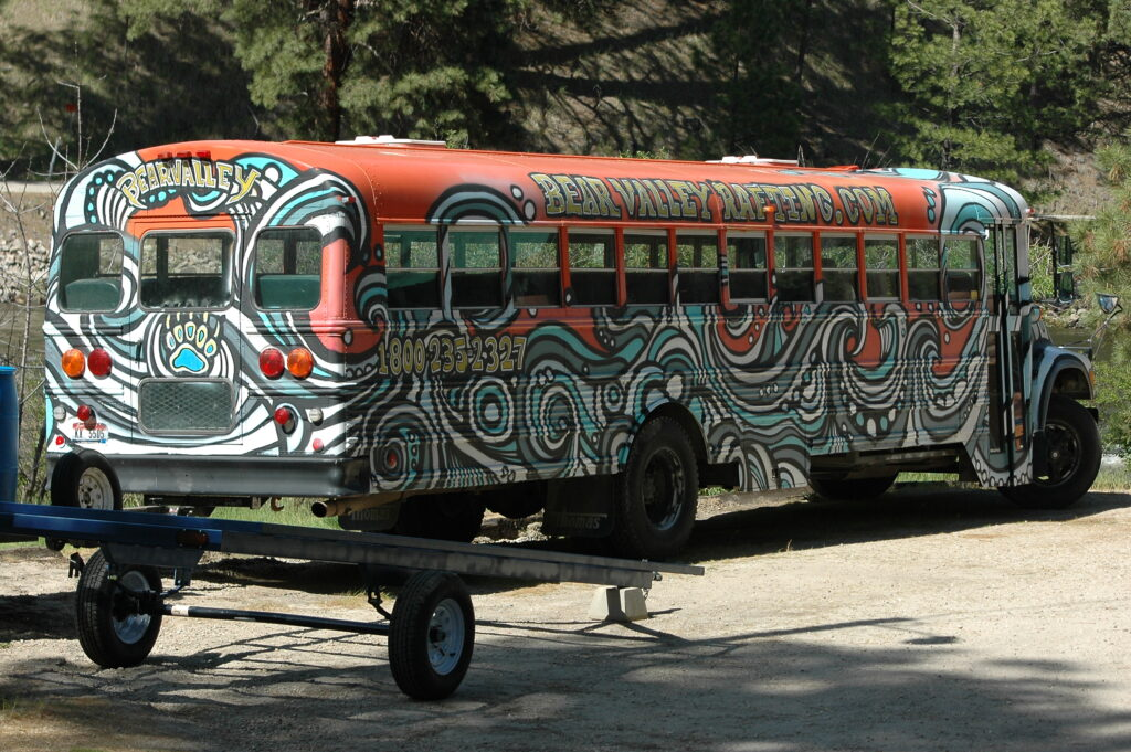 One of our Bear Valley Buses