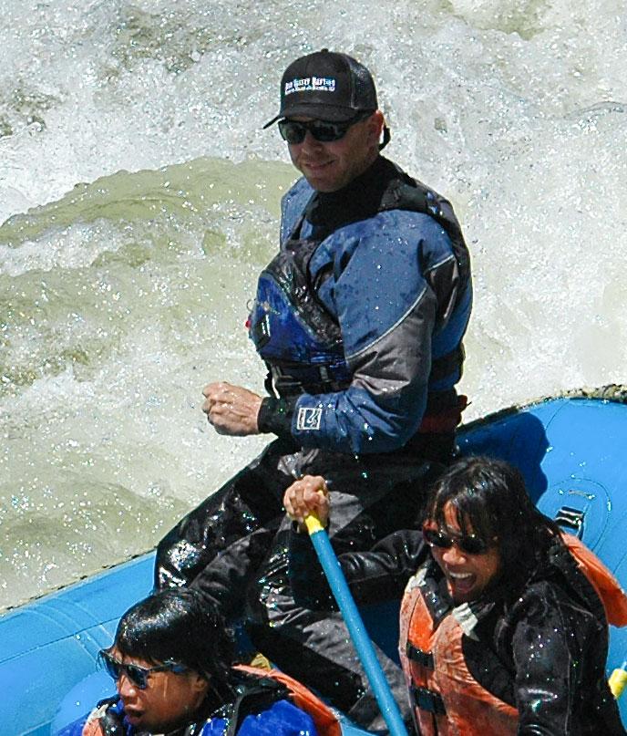 Phil White - Owner/Operator of Bear Valley Rafting