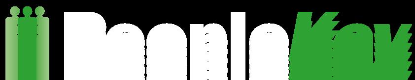 PeopleKey-Logo for black shirt (Biometrics Systems)