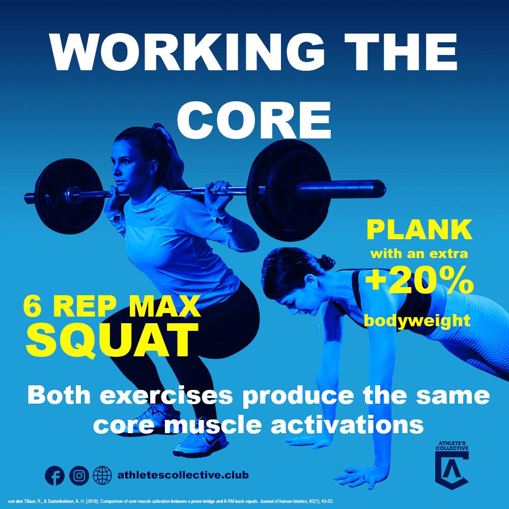 Squat vs Plank