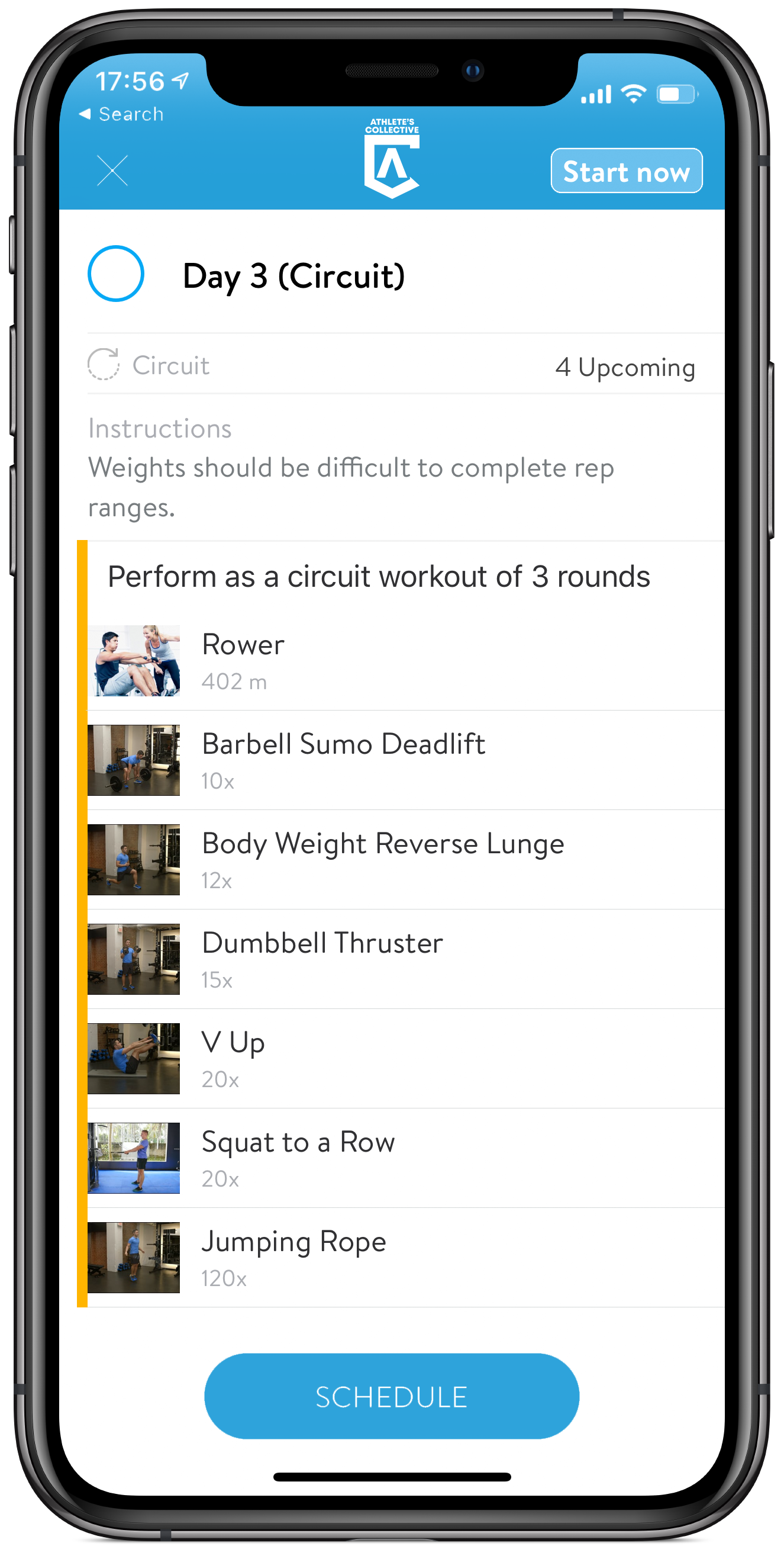 Workout Overview
