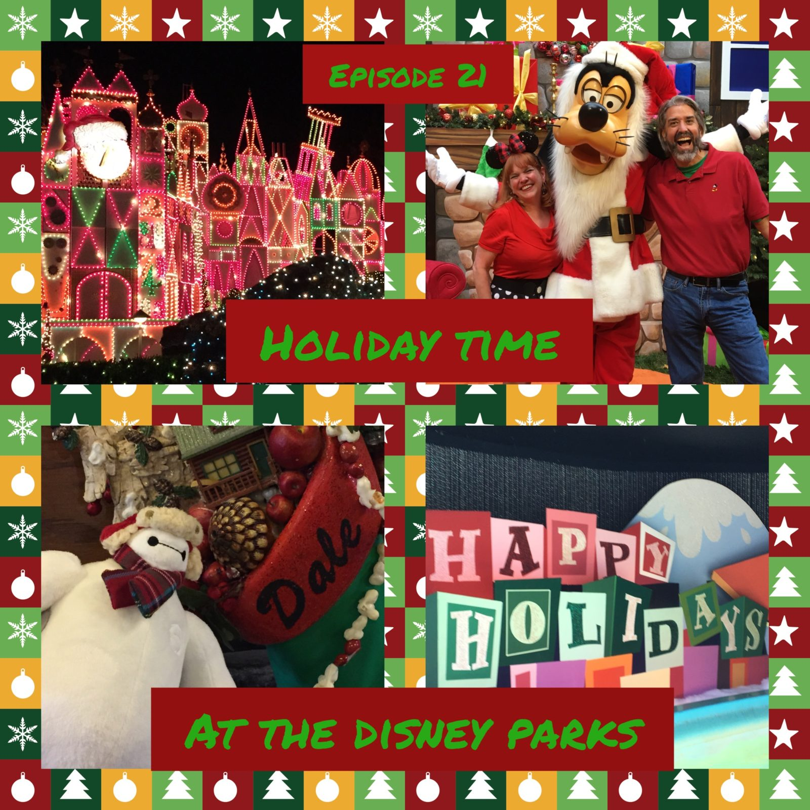 Holiday Time at the Disney Parks