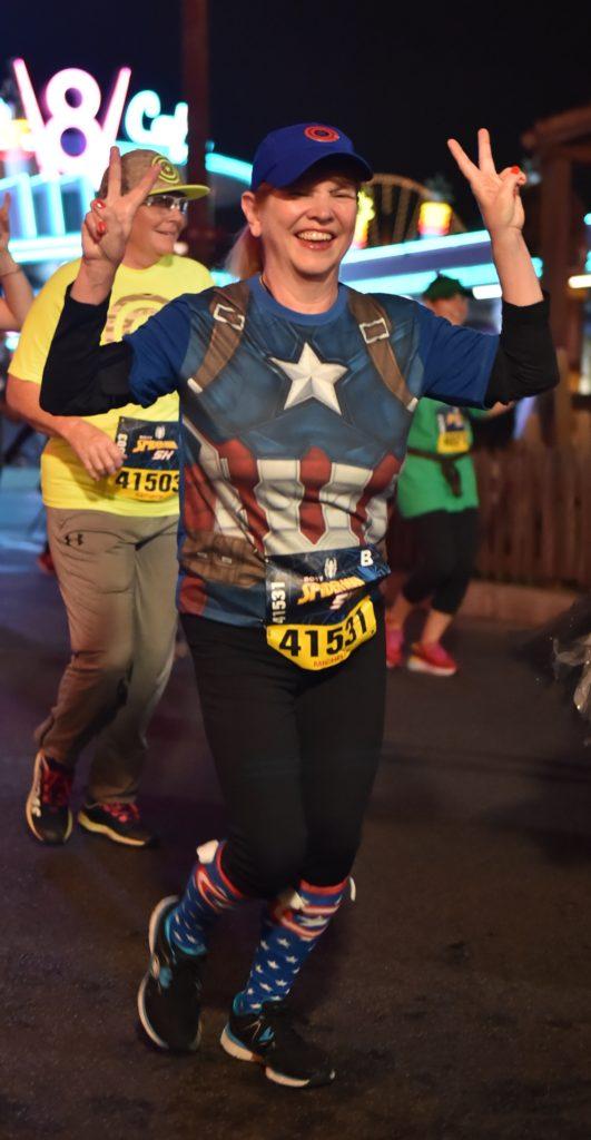 Michelle - runDisney - Avengers 5K - Disneyland