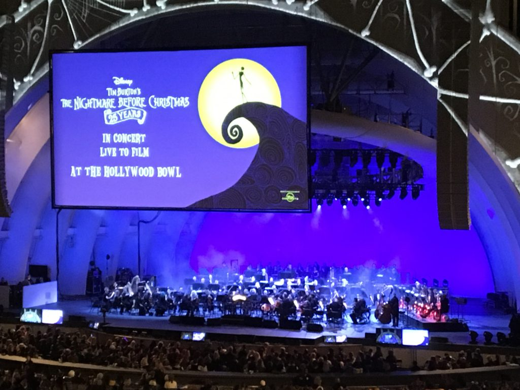 The Nightmare Before Christmas Live - Hollywood Bowl