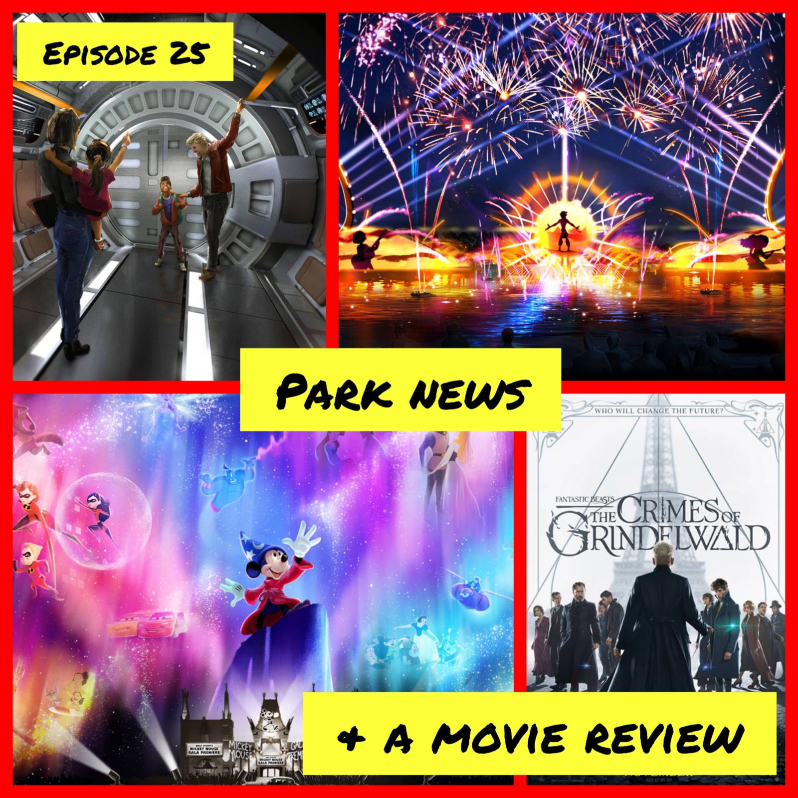 Episode 25 - Park News & A Movie Review