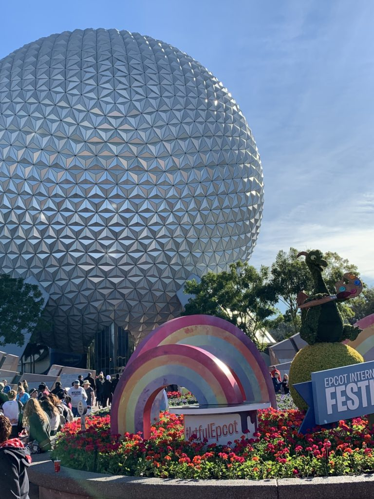 Festival of the Arts - Epcot - Spaceship Earth - Vacation