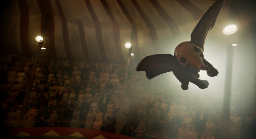 Dumbo - Flying