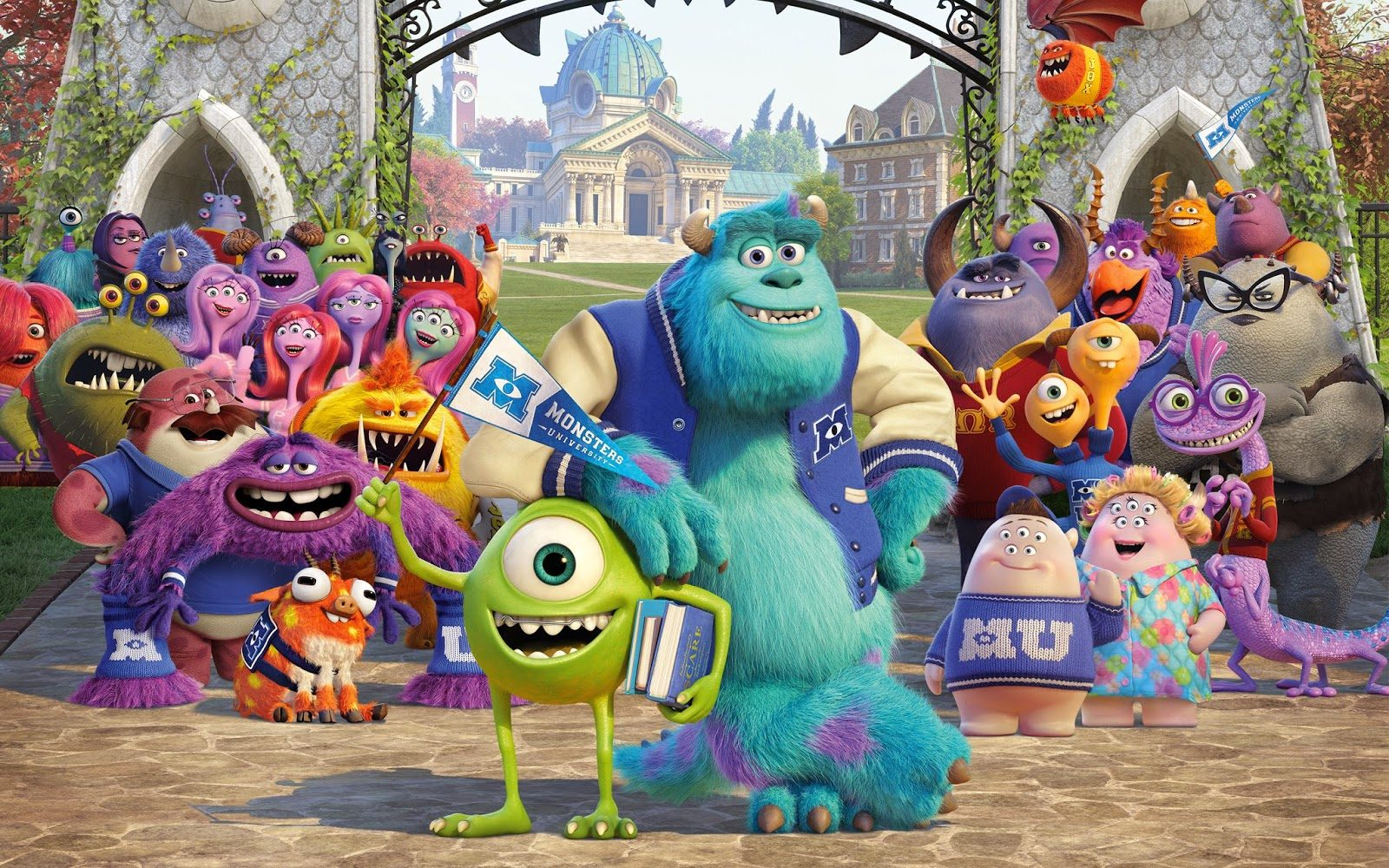 5 Favorite Animated Sequels - Monsters University