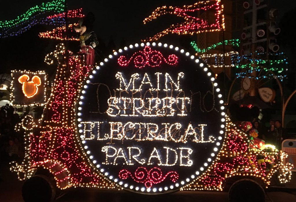 Attraction Memories - Main Street Electrical Parade