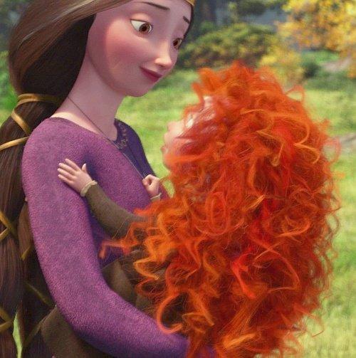 Queen Elanor and Merida - Mother's Day the Disney Way