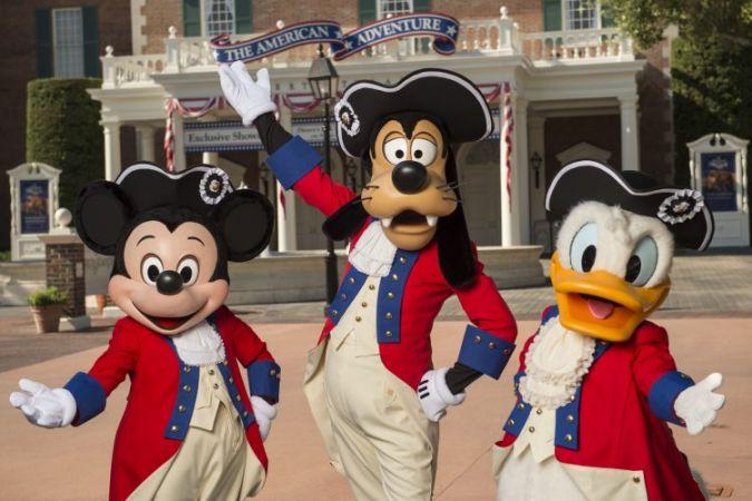 Celebrating America at Disney