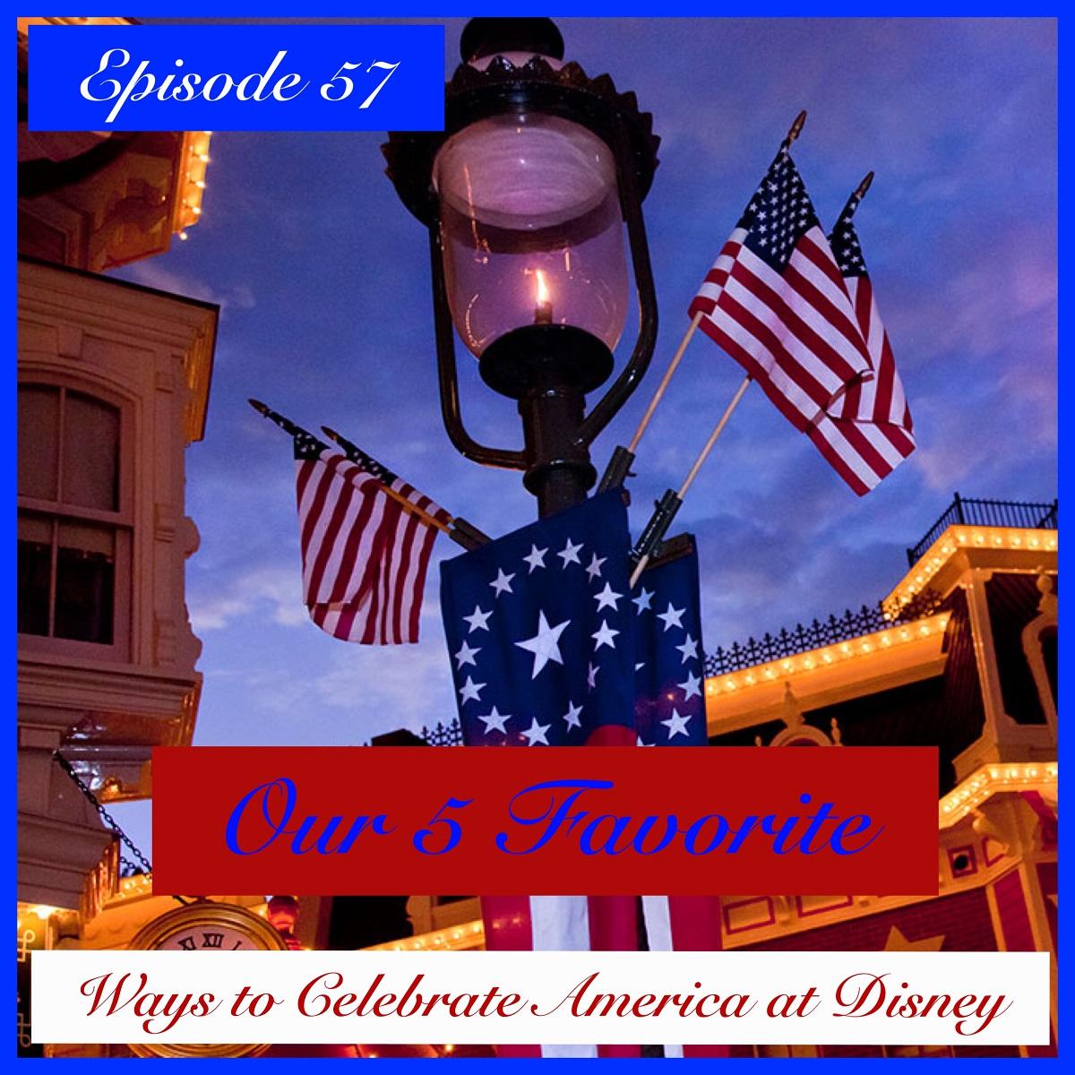 Celebrate America at Disney