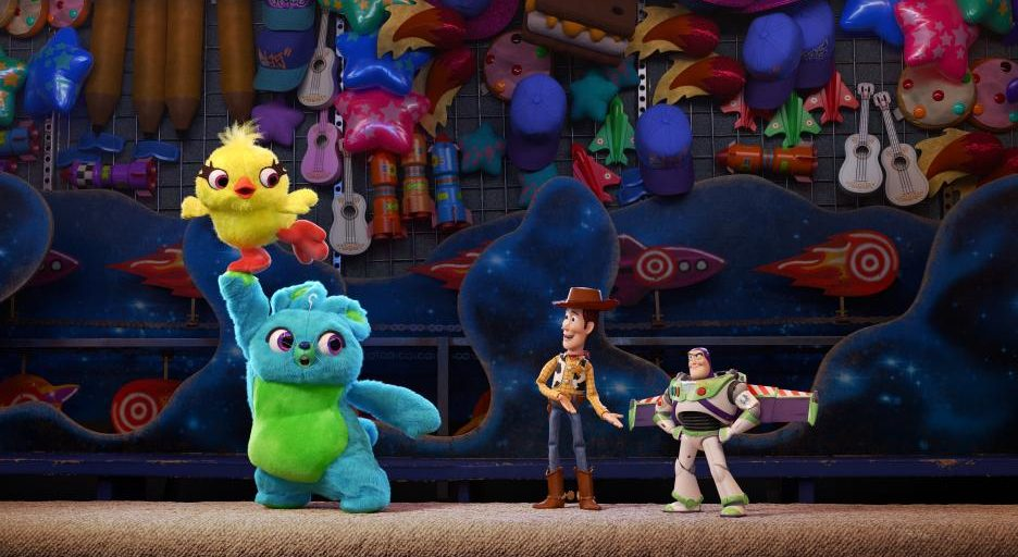 Ducky, Bunny, Buzz and Woody