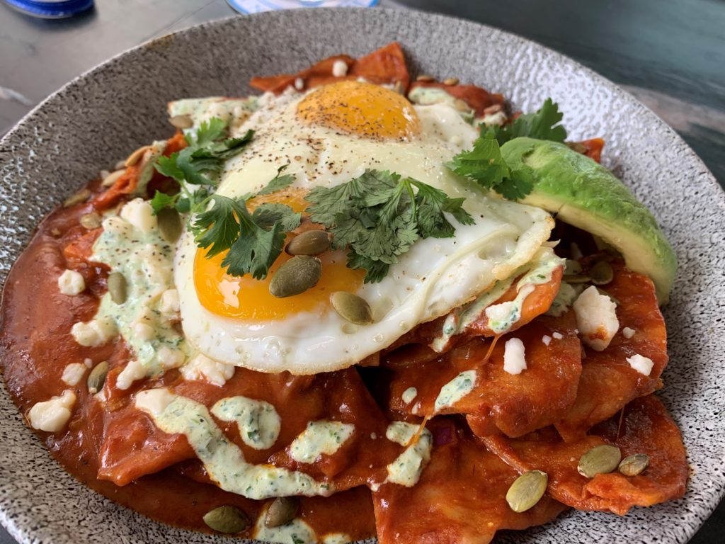 Dining At Disney - Chilaquiles - Lamplight Lounge - Disney California Adventure Park