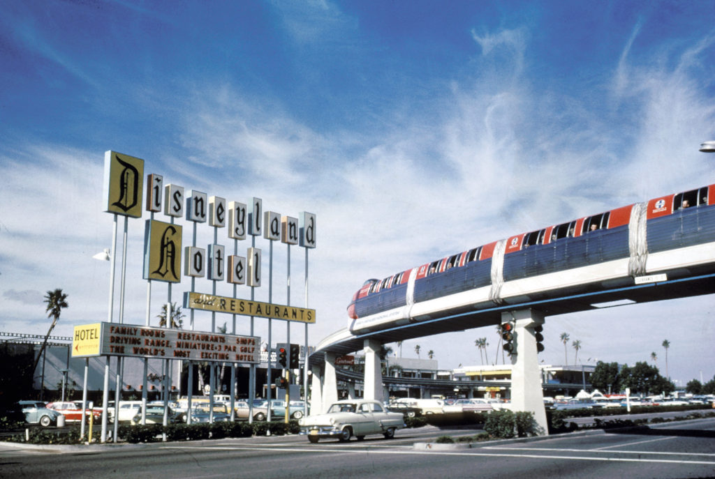 The Disneyland Hotel - Then & Now