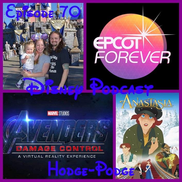Disney Podcast Hodge-Podge