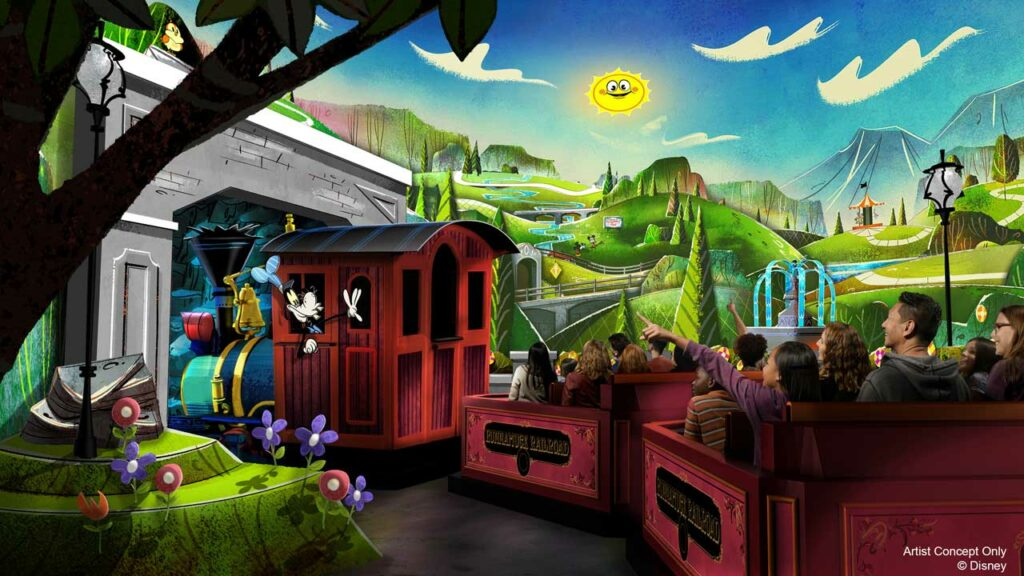 Mickey and Minnie's Runaway Railway - New Disney Experiences
