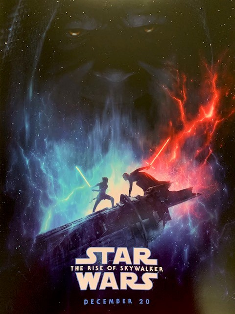 Star Wars - Episode IX: The Rise of Skywalker Poster - Our December Giveaway