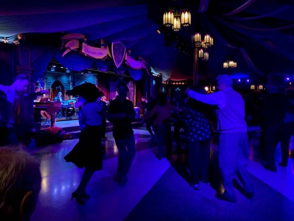 Swing Dancing at Disneyland - Date Nite at Disney Parks
