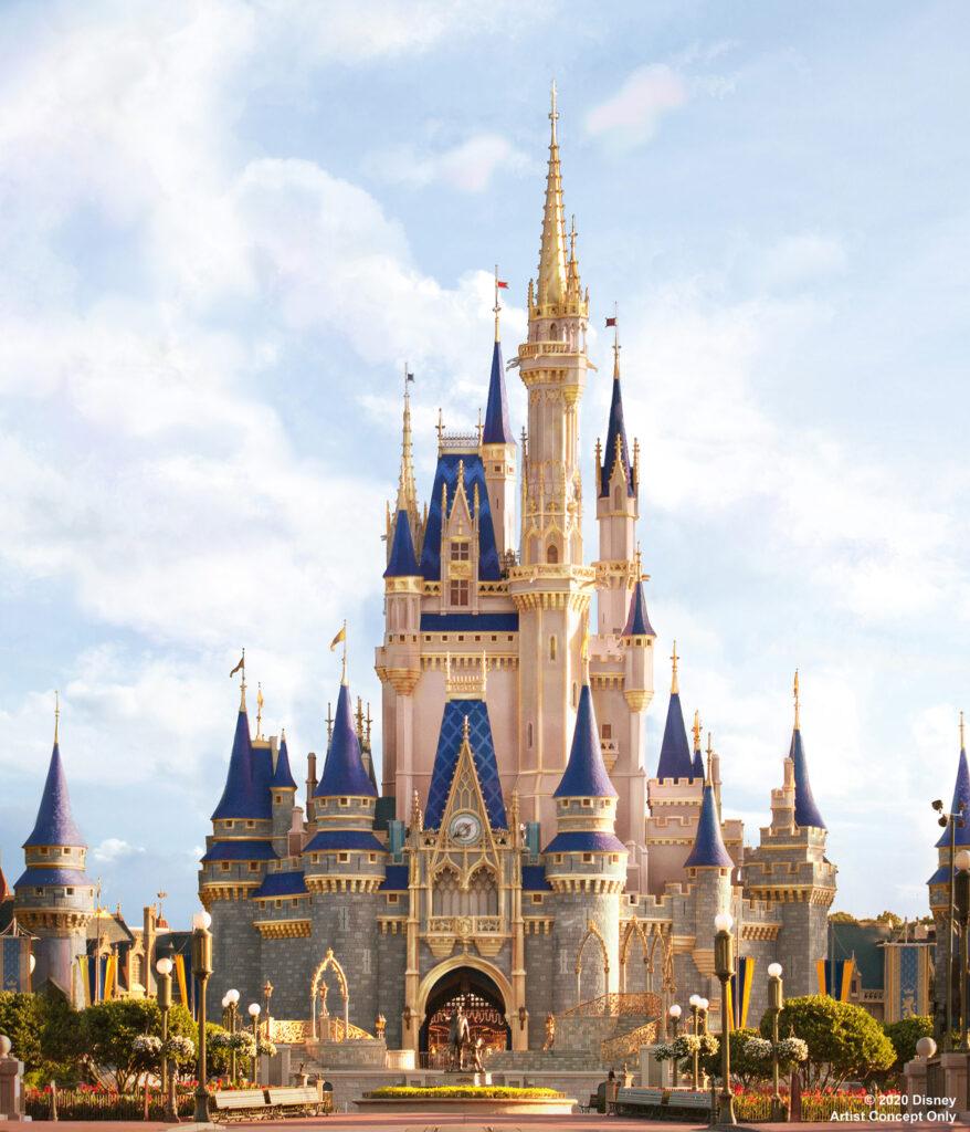 Cinderella Castle - Makeover Concept Art