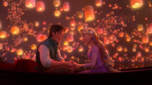 Tangled - Lantern Scene - Our 5 Favorite Disney Love Songs