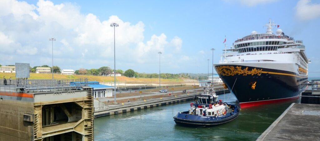Disney Wonder in the Panama Canal - Our Panama Canal Disney Cruise Recap