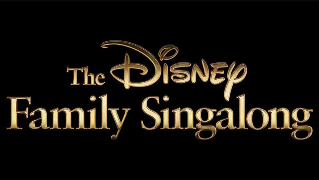 Disney Family Sing Along Logo - Walt Disney World Sleepover