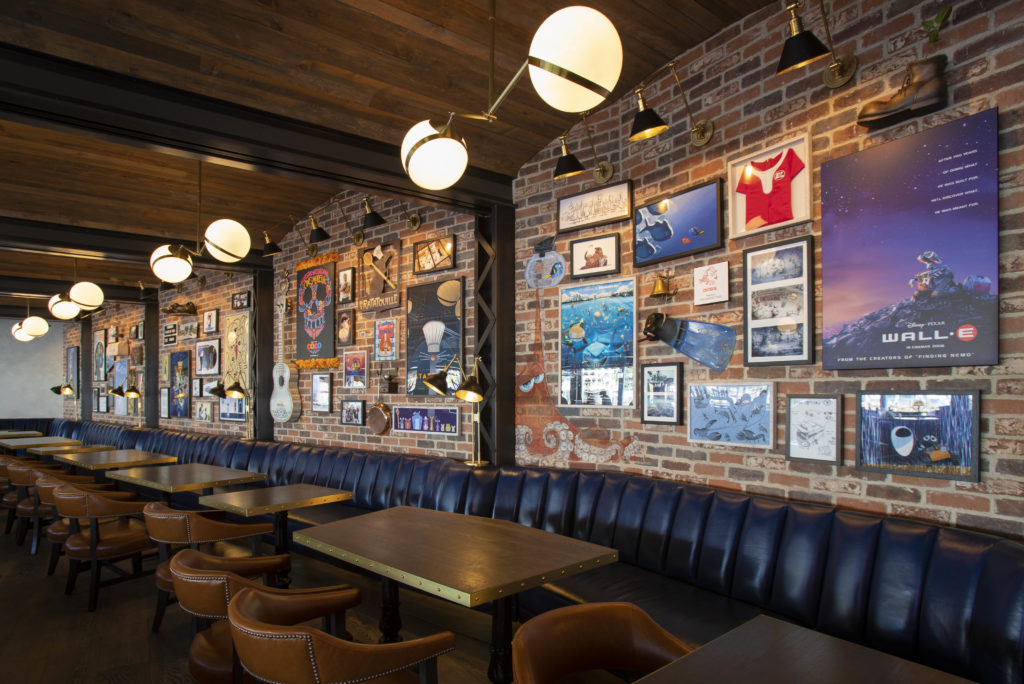 Lamplight Lounge - Disney California Adventure Park - Disneyland Resort - Our 5 Favorite Themed Disney Restaurants