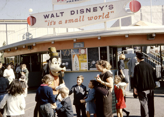 it's a small world exhibit - Disney and the 1964 World's Fair