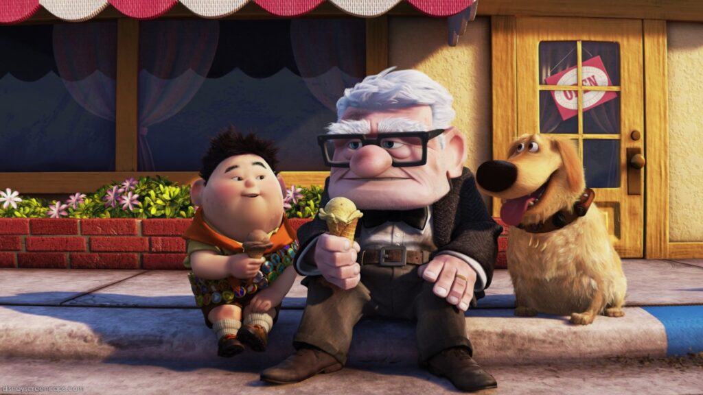 Carl, Russell and Dug from Up - Our 5 Favorite Disney Father Figures