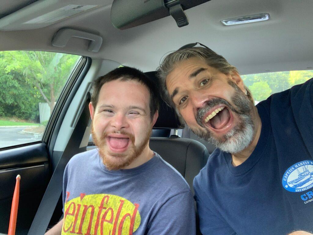 Scott & Tom on their cross-country road trip