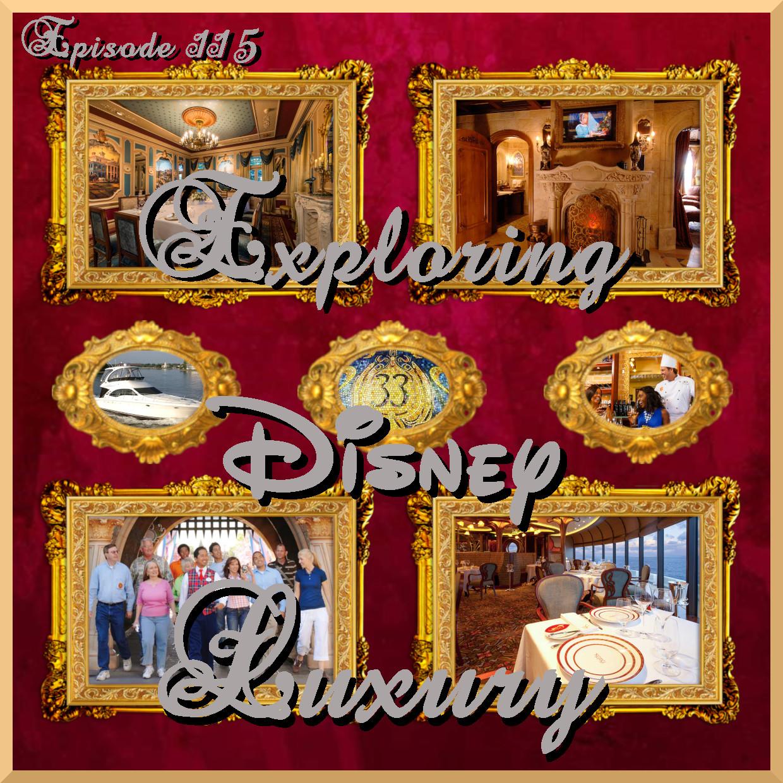 Disney Dream Sutie Dining Room - Exploring Disney Luxury