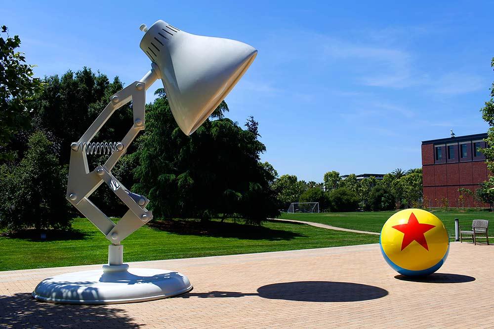 Pixar Ball & Lamp - Pixar Studios