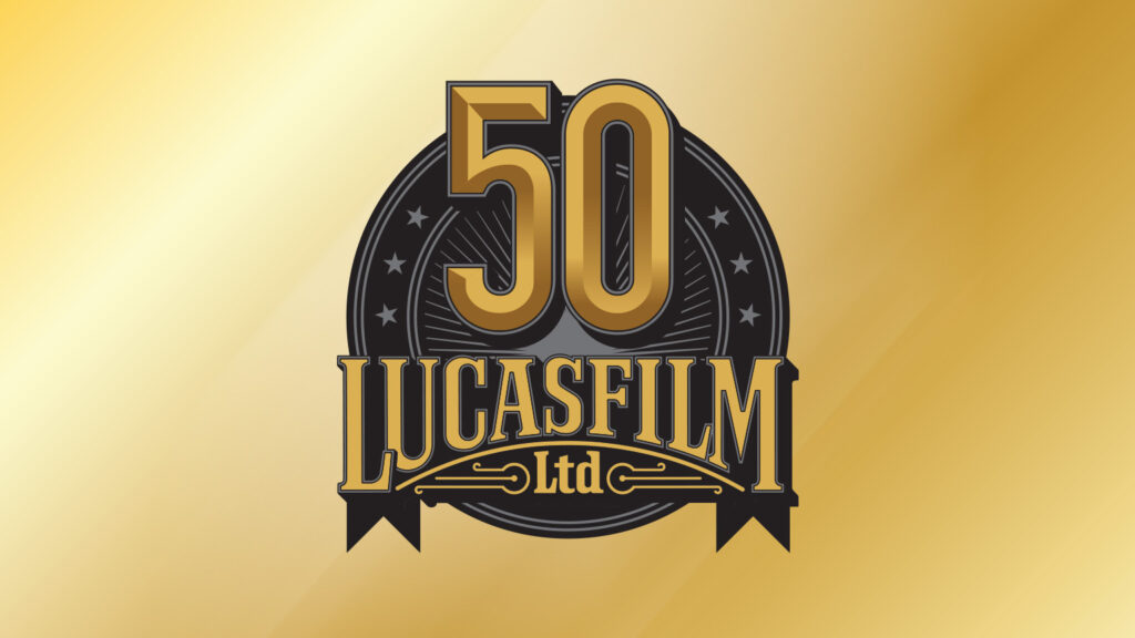 LucasFilm 50th Anniversary Logo - Holiday Traditions Around World Showcase